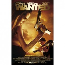 Wanted - Affiche 120x160cm