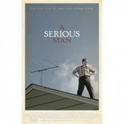 A serious man - Affiche...