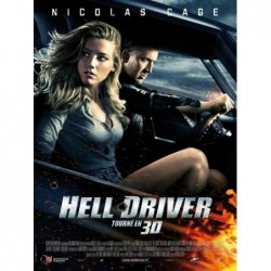 Hell Driver - Affiche 40x60cm