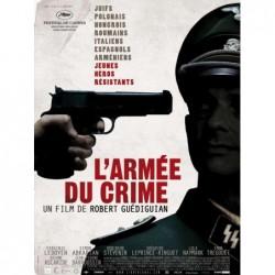 L'armée du crime - Affiche...