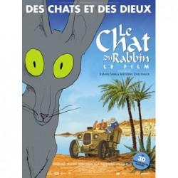 Le chat du rabbin - Affiche...