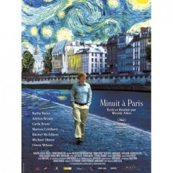 Minuit à Paris - Affiche...