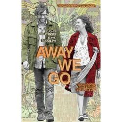 Away we go - Affiche 40x60cm