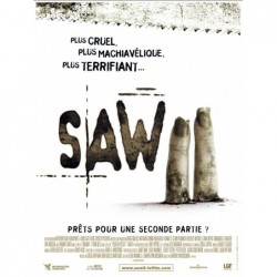 Saw 1 - Affiche 40x60cm