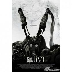 Saw 6 - Affiche 40x60cm