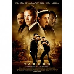 Takers - Affiche 40x60cm