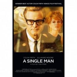 A single man - Affiche...