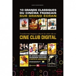 Ciné club Gaumont - Affiche...