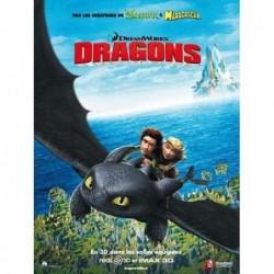 Dragons - Affiche 120x160cm