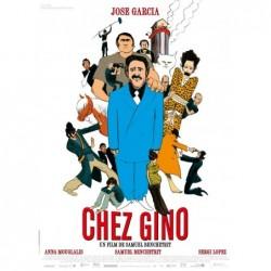 Chez Gino - Affiche 40x60cm